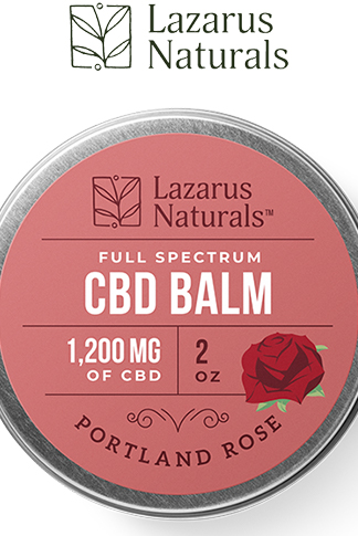 undefined - Portland Rose Full Spectrum CBD Balm