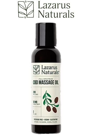 undefined - CBD Massage Oil 1600mg