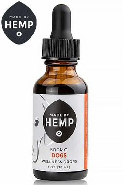 Made By Hemp – CBD Oil for Dogs 1oz (200 & 500mg CBD)