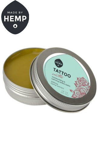 Made By Hemp – Soothing CBD Tattoo Care Balm (500mg CBD)