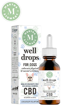 CBD Well Drops Chicken Flavor Oil Drops 600mg