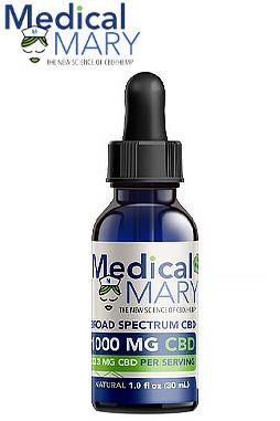 Broad Spectrum 1000 mg CBD Oils