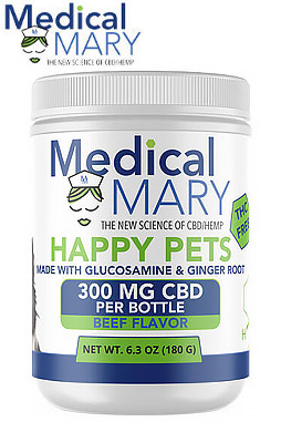 Happy Pets 180g CBD – Beef Flavor