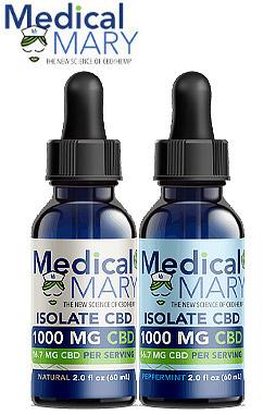 Isolate 1000 mg CBD Oils