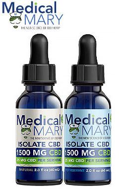 Isolate 1500 mg CBD Oils