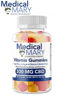Multi-Vitamin Sugar-Free Gummies 300mg
