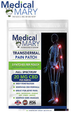 3-Pack CBD Skin Patch