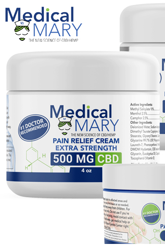 Pain Relief Creams CBD 125