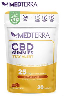 Medterra CBD - CBD Gummies Stay Alert