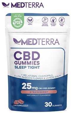 Medterra CBD - CBD Gummies Sleep Tight