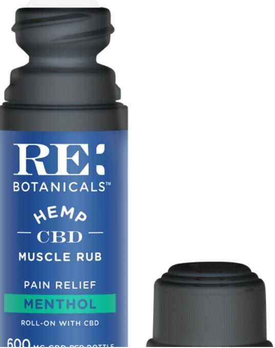 Menthol Muscle Rub with CBD 600mg