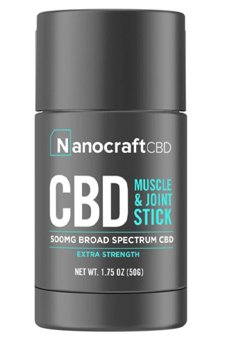 Extra Strength CBD Muscle & Joint Stick - Broad Spectrum (500mg)
