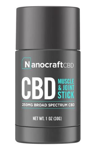 CBD Muscle & Joint Stick - Broad Spectrum (250mg)