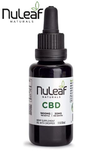 Nuleaf Naturals - Full Spectrum Hemp CBD Oil 1800mg