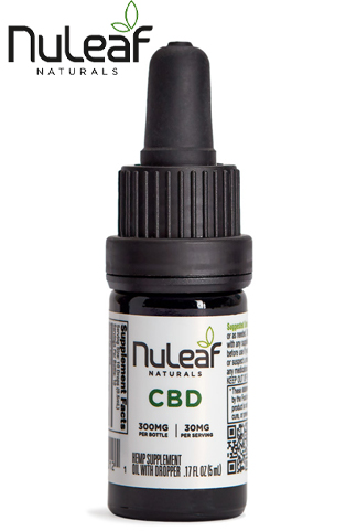 300mg Full Spectrum Hemp CBD Oil, 5mL (60mg/mL)