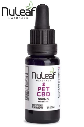 Nuleaf Naturals - Full Spectrum Hemp CBD Pet Oil (60mg/mL)