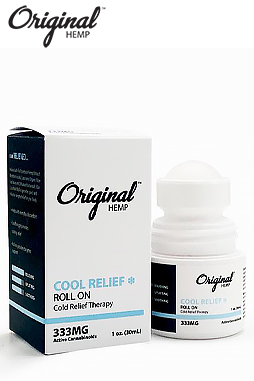 Original Hemp - Cool Relief Roll-On 333 mg