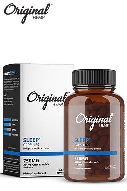 Original Hemp - Sleep Capsules (750mg) | Full Spectrum Hemp Extract