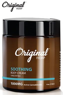 Original Hemp - Topical Soothing Cream 1000 mg
