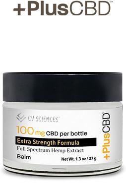 PlusCBD™ Oil Balm - Extra-Strength Gold Formula