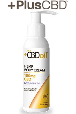 PlusCBD™ Oil Body Cream – Lavender