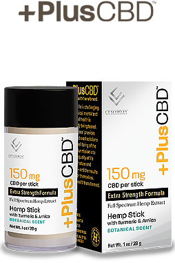 PlusCBD™ Oil Balm - Hemp Stick Gold Formula