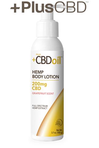 PlusCBD™ Oil Body Lotion