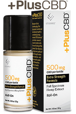 PlusCBD Oil - PlusCBD™ Oil Roll-On 500 mg