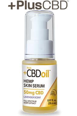 PlusCBD™ Oil Skin Serum - Gold Formula
