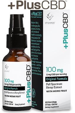 PlusCBD™ Oil Spray 100 mg 1 oz