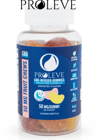 Proleve - Proleve - CBD Edible - Gummy Slices PM - 50mg