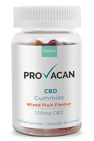 Provacan - CBD Gummies | 100mg CBD (10mg/gummy)