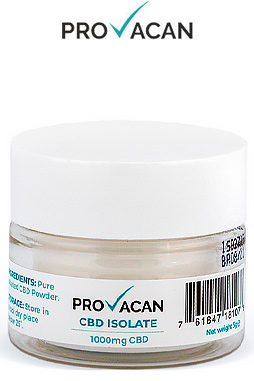 Provacan - 1g CBD Isolate (1000mg CBD)