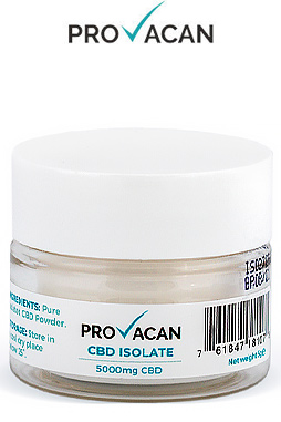 Provacan - 5g CBD Isolate (5000mg CBD)