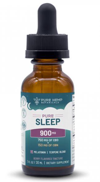 Pure Hemp Botanicals - Pure Sleep 900mg CBD + CBN Tincture