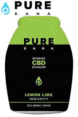 Lemon Lime (Immunity) CBD Beverage Enhancer