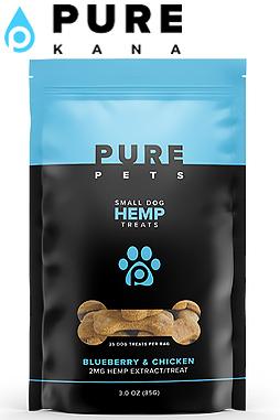 Pure Kana - Hemp Dog Treats (Small Dog)  50mg