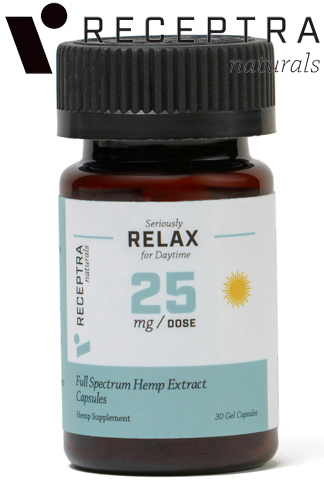 Seriously Relax Gel Capsules 25mg  30 Gel Caps