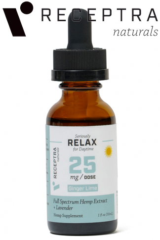 undefined - Serious Relax + Lavender Tincture 25mg /Dose (1 oz.)