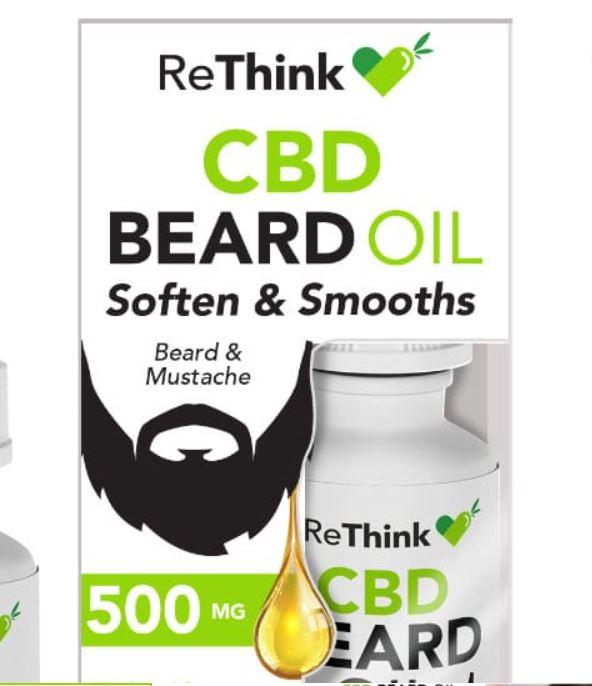 undefined - ReThink CBD Beard Oil – 500MG