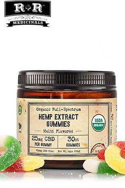 R+R Medicinals CBD - Gummies 25mg