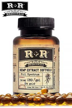 R+R Medicinals CBD - Softgels 30mg
