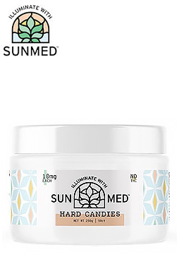 Sunmed - Hard Candy 50 Count 10mg (500mg)