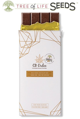 CBD Oil Dark Chocolate Bar