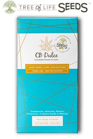 CBD Oil Super Omega Chocolate Bar
