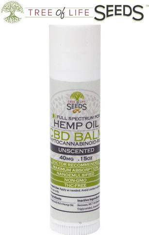 Unscented CBD Oil Balm 0.15oz