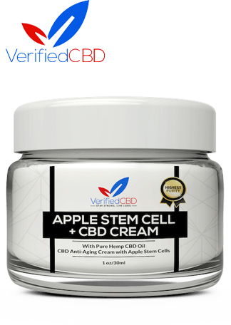 CBD Anti-Aging Cream with Apple Stem Cells