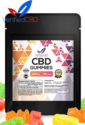 Verified CBD - CBD Gummies 200mg