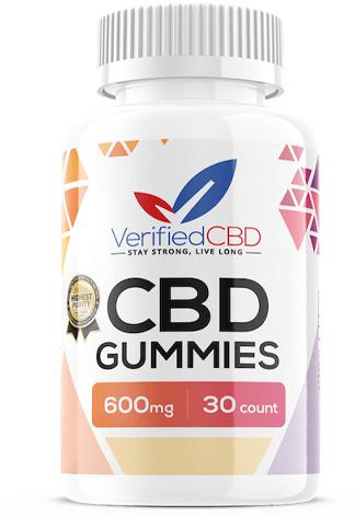 Verified CBD - CBD Gummies 600mg