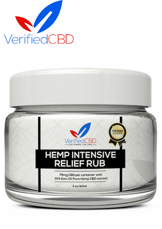 CBD Hemp Intensive Healing Pain Rub